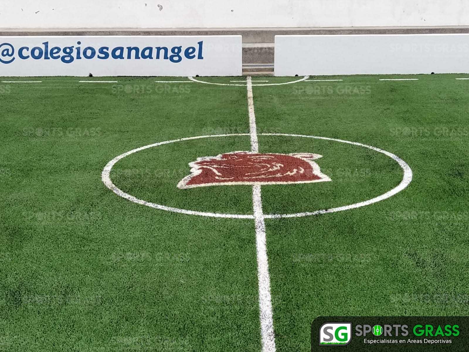 Futbol rápido con logotipo, colegio San Angel Puebla SportsGrass 02